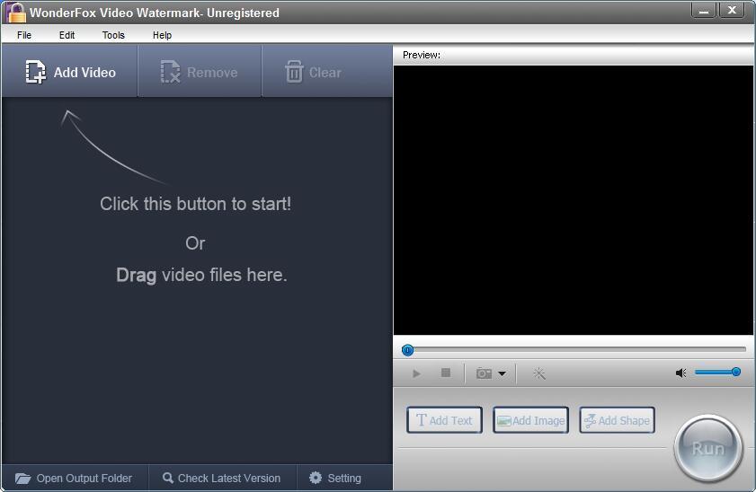 WonderFox Video Watermark截图