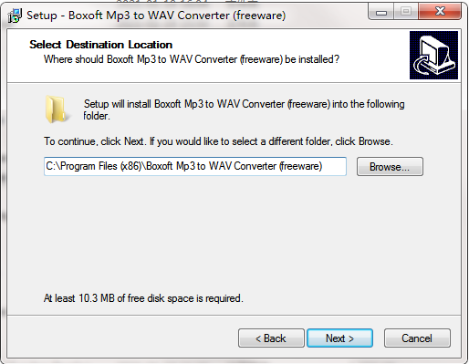 Boxoft MP3 to WAV Converter截图
