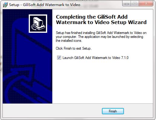 Gilisoft Add Watermakt to Video截图