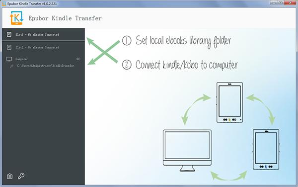 Epubor Kindle Transfer截图