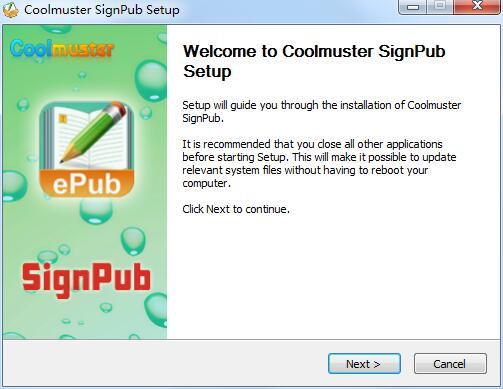 Coolmuster SignPub截图