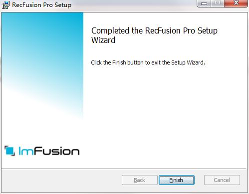 RecFusion Pro截图