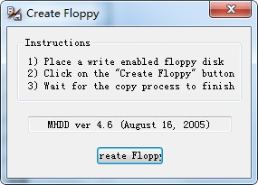 Create Floppy截图