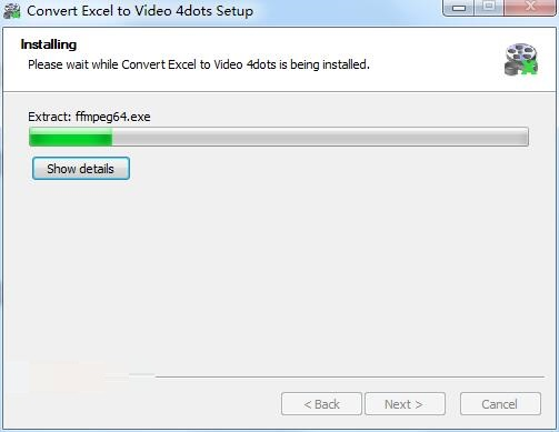 Convert Excel to Video 4dots截图