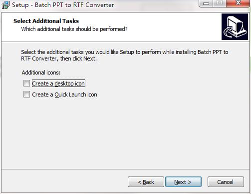 Batch PPT to RTF Converter截图