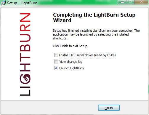 LightBurn截图