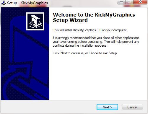 KickMyGraphics截图