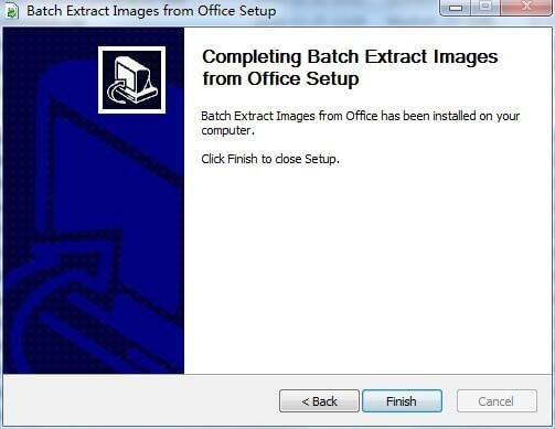 Batch Extract Images from Office截图