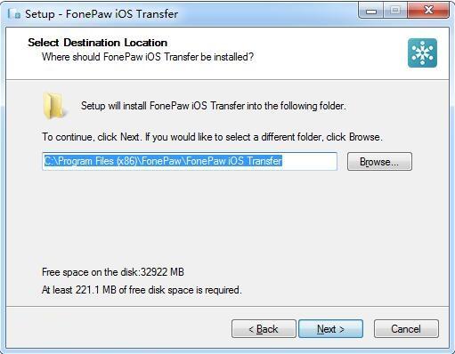 FonePaw iOS Transfer截图