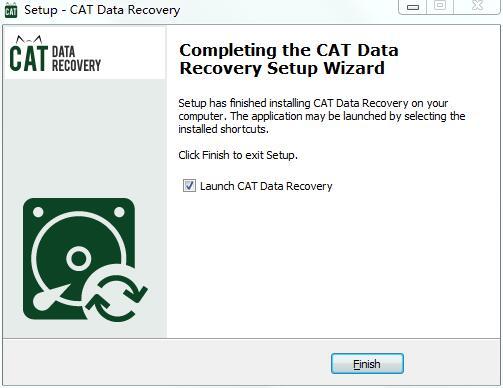 CAT Data Recovery截图
