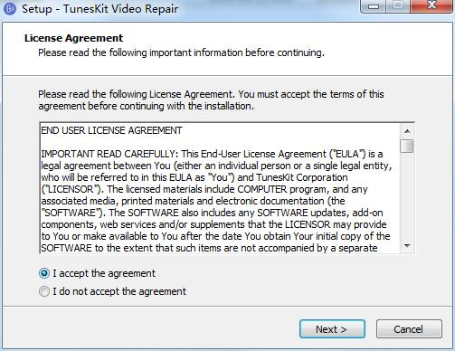 TunesKit Video Repair截图