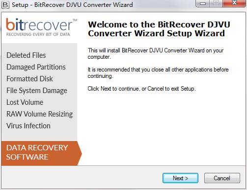 DjVu Converter Wizard截图