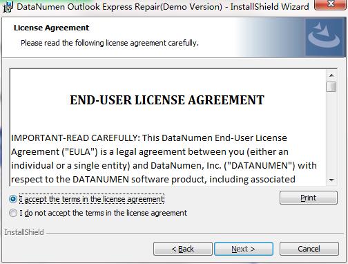 DataNumen Outlook Express Repair截图