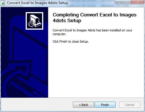 Convert Excel to Images 4dots截图