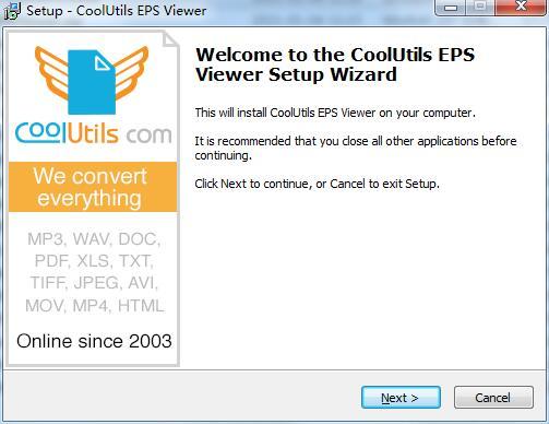 Coolutils EPS Viewer截图