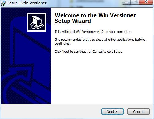 Win Versioner截图