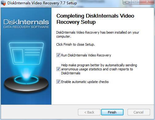DiskInternals Video Recovery截图