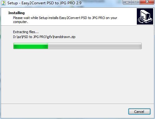 Easy2Convert PSD to JPG PRO截图
