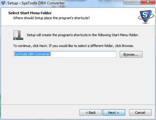 SysTools DBX Converter截图