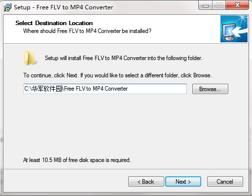 Free FLV to MP4 Converter截图