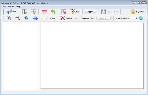 VeryPDF Advanced PDF Page Cut截图