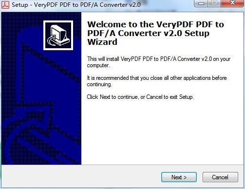 VeryPDF PDF to PDF/A Converter截图
