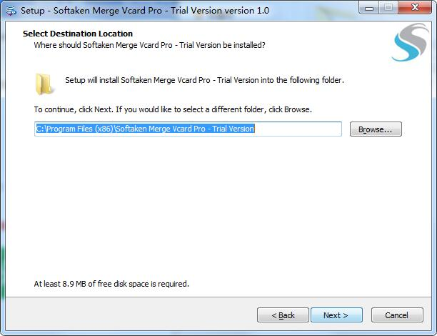Softaken Merge Vcard Pro截图