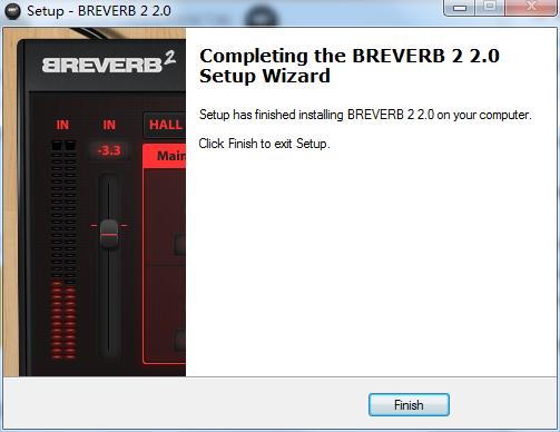 混响效果器(Overloud BREVERB 2)截图