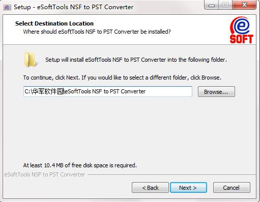 eSysInfoTools NSF to PST Converter截图