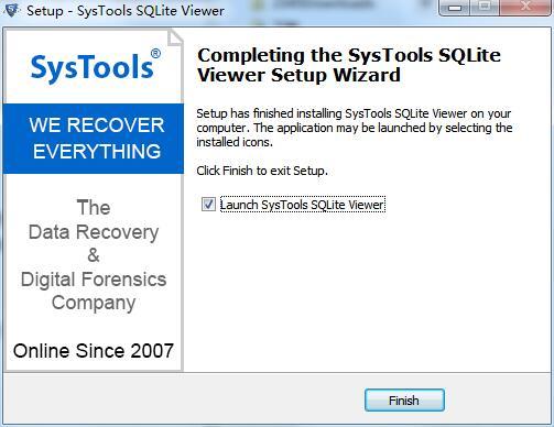SysTools Sqlite Viewer截图