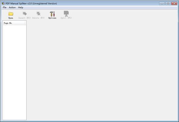 VeryPDF PDF Manual Splitter截图1