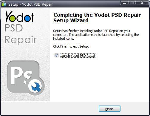 Yodot PSD Repair截图