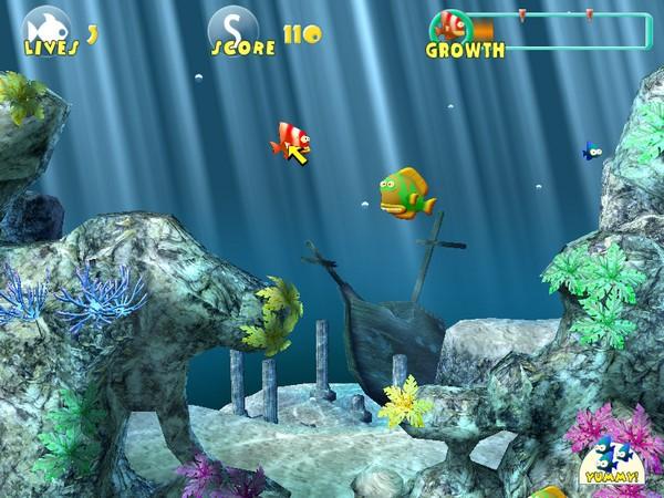 大鱼吃小鱼3D版截图