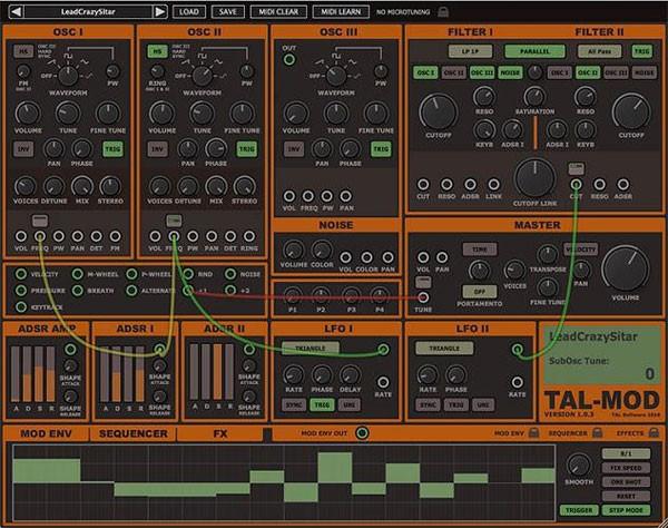 Togu Audio Line TAL Mod截图1