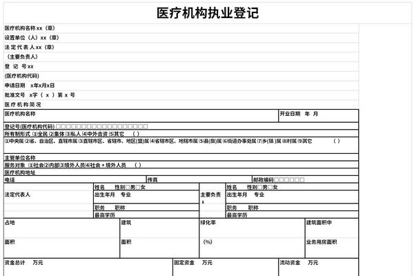 医疗机构执业登记截图1