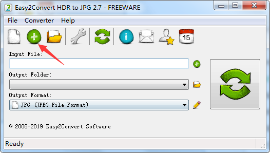 Easy2Convert HDR to JPG截图