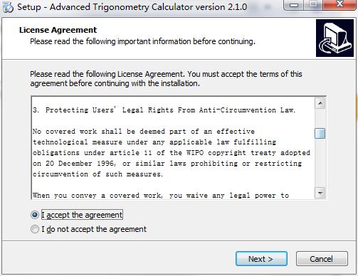 Advanced Trigonometry Calculator截图