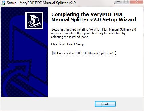 VeryPDF PDF Manual Splitter截图