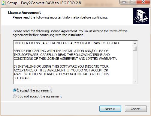 Easy2Convert RAW to JPG PRO截图