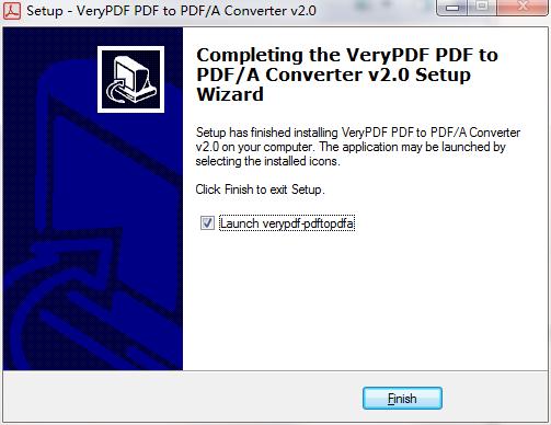 VeryPDF PDF to PDFA Converter截图