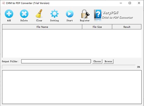 VeryPDF CHM to PDF Converter截图
