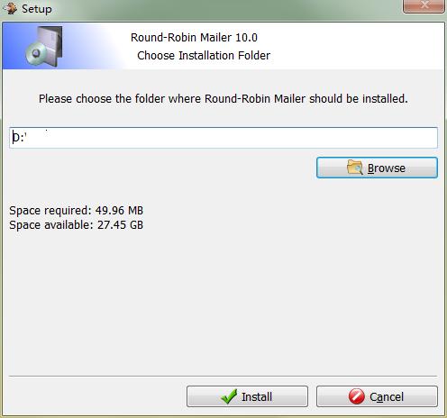 Round Robin Mailer截图