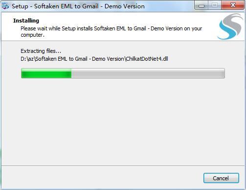 Softaken EML to GMail Importer截图