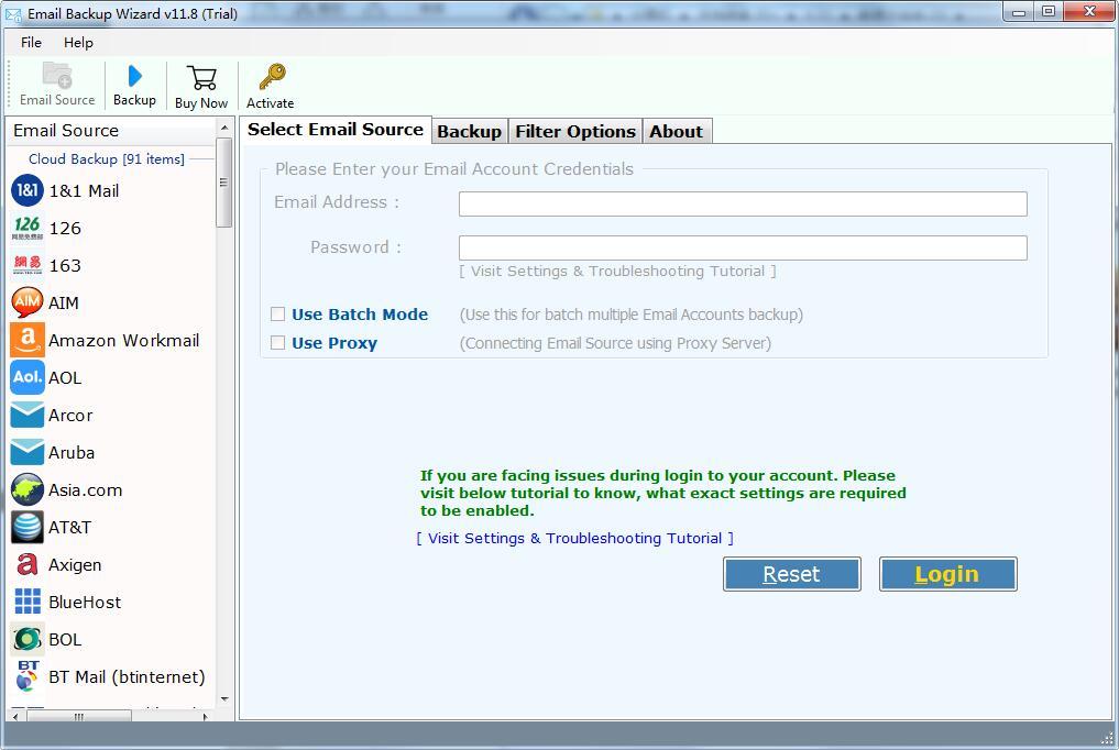 Advik Email Backup Wizard截图