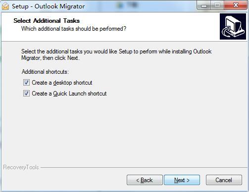 RecoveryTools Outlook Migrator截图