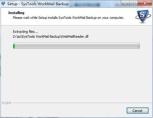 SysTools WorkMail Backup截图