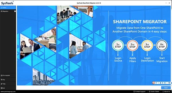 SysTools SharePoint Migrator截图1