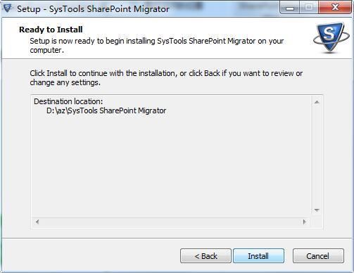 SysTools SharePoint Migrator截图