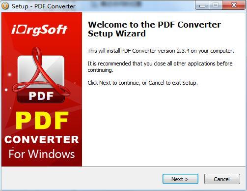 iOrgSoft PDF to Word Converter截图