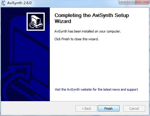 AviSynth截图